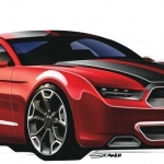 2017 Ford Mustang Roadster Concept Car