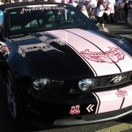 2017 Ford Mustang Warriors In Pink