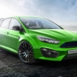 2017 Ford Focus RS new