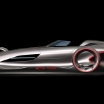2017 Mercedes Benz Silver Arrow Concept