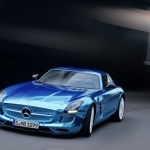 2017 Mercedes Benz SLS AMG Coupe Electric Drive