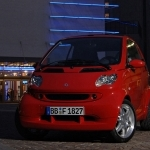 2017 Smart fortwo edition red