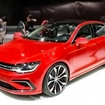 2018 Volkswagen New Midsize Coupe Concept