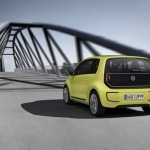 2018 Volkswagen e Up Concept