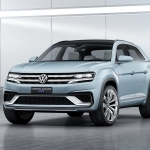 2018 Volkswagen CrossBlue Coupe Concept