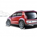 2018 Volkswagen Cross Up Concept