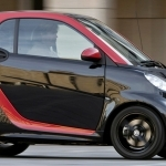 2018 Smart fortwo edition red
