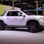 2018 Renault Duster Oroch Concept