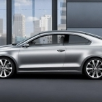 2019 Volkswagen New Compact Coupe Concept