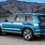 2019 Volkswagen CrossBlue Coupe Concept