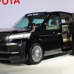 2019 Toyota JPN Taxi Concept