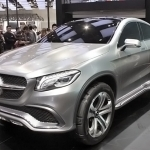 2019 Mercedes Benz Coupe SUV Concept