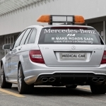 2019 Mercedes Benz C63 AMG Estate F1 Medical Car