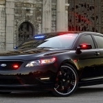 2019 Ford Stealth Police Interceptor Concept