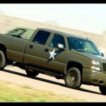 2019 Chevrolet Silverado Hydrogen Military Vehicle